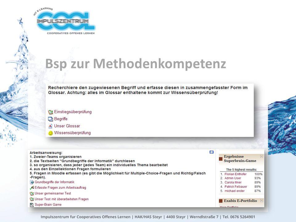 gtn gmbh Bsp zur Methodenkompetenz