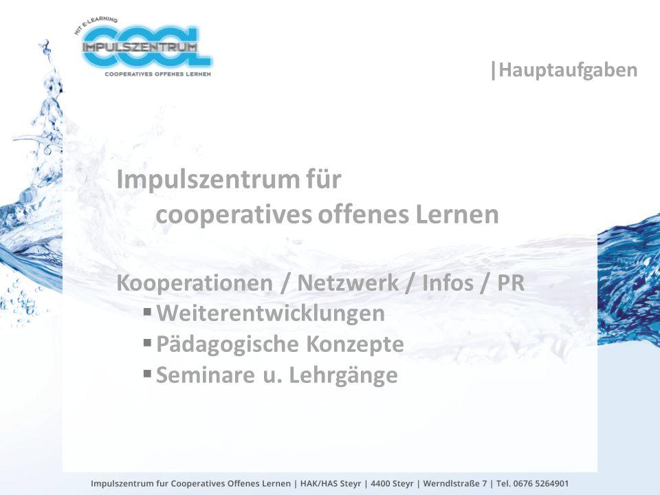 gtn gmbh |Hauptaufgaben Impulszentrum für cooperatives offenes Lernen Kooperationen / Netzwerk / Infos / PR Weiterentwicklungen Pädagogische Konzepte