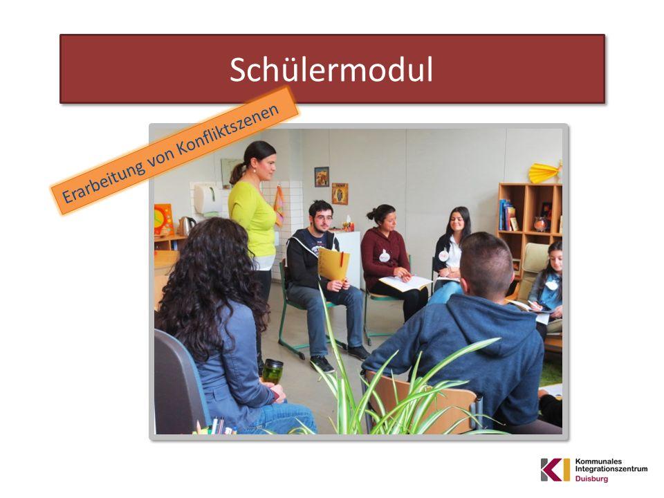 Schülermodul Erarbeitung von Konfliktszenen