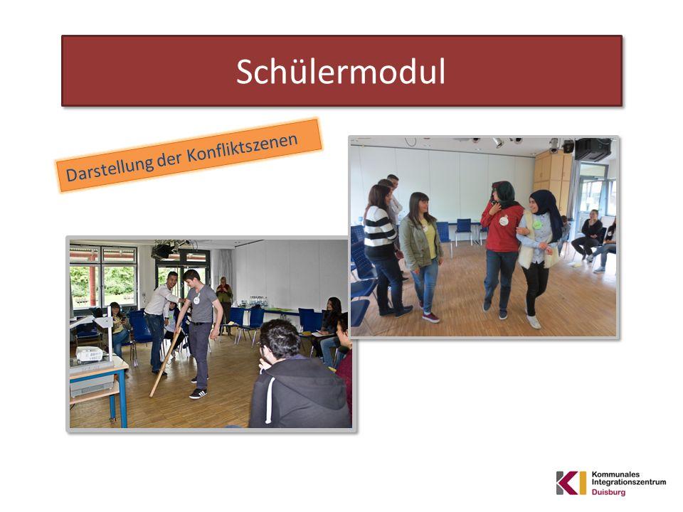 Schülermodul Darstellung der Konfliktszenen