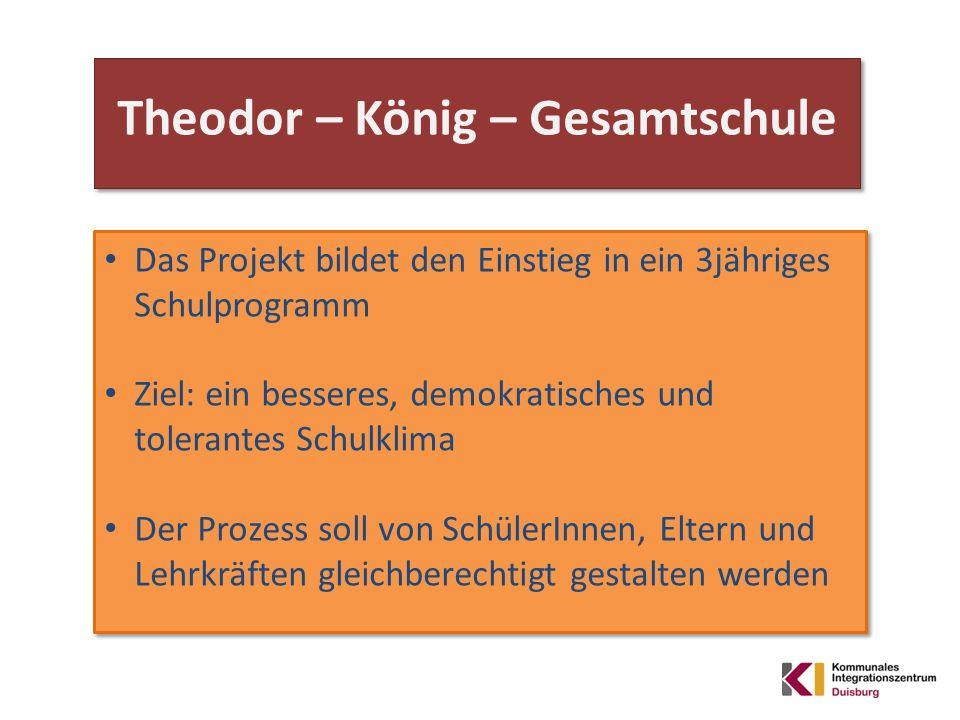 Leitsatz der Schule : Meral Dedeoglu (Schulsozialpädagogin )