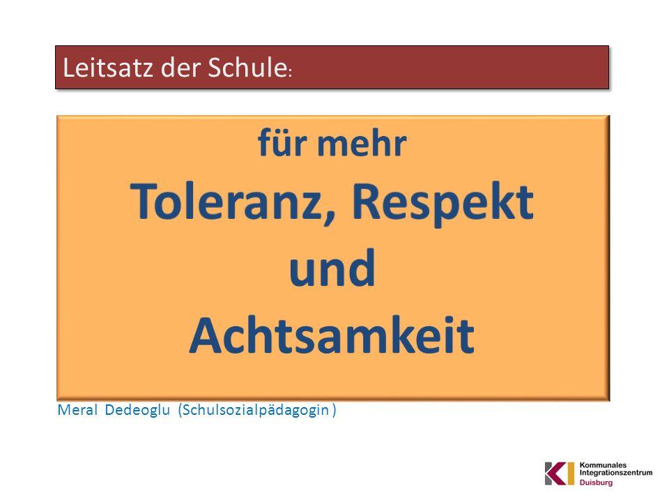 Toleranz, Respekt und Achtsamkeit Trainingsprogramm Interkulturelle Qualifizierung zu Kommunikation und Konfliktmanagement nach dem WAIK® – Konzept mit Mohammad Heidari von