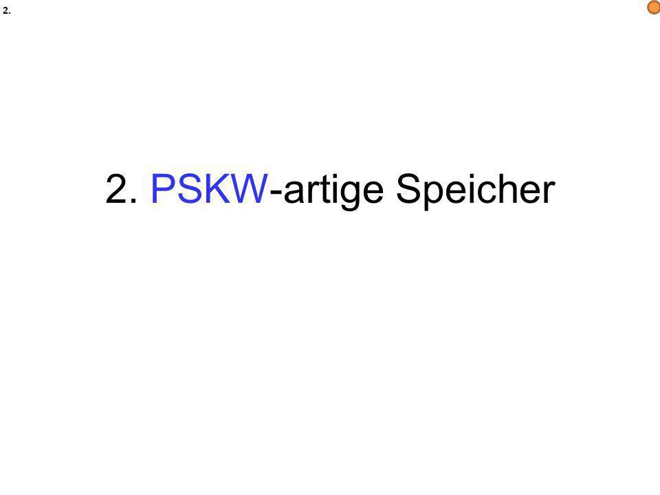 2. PSKW-artige Speicher 2.