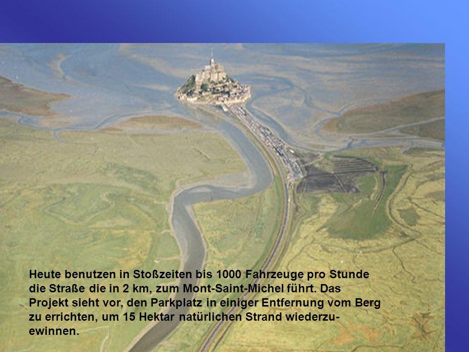 Die Arbeiten haben im Frühjahr 2006 begonnen und werden bis zum Jahre 2012 fortgesetzt werden. Sie werden sich auf einen Kilometer um den Berg ausdehn