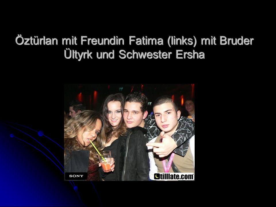 Öztürlan mit Freundin Fatima (links) mit Bruder Ültyrk und Schwester Ersha