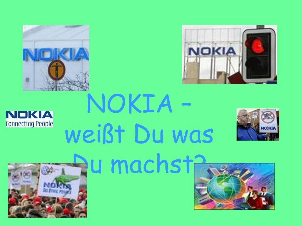 NOKIA – WO WILLST DU HIN