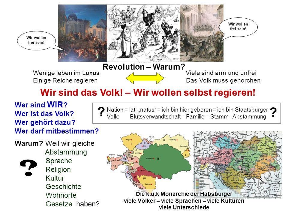 Revolution – Warum.