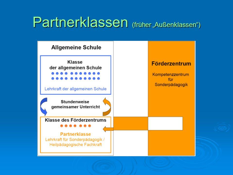 Partnerklassen (früher Außenklassen)
