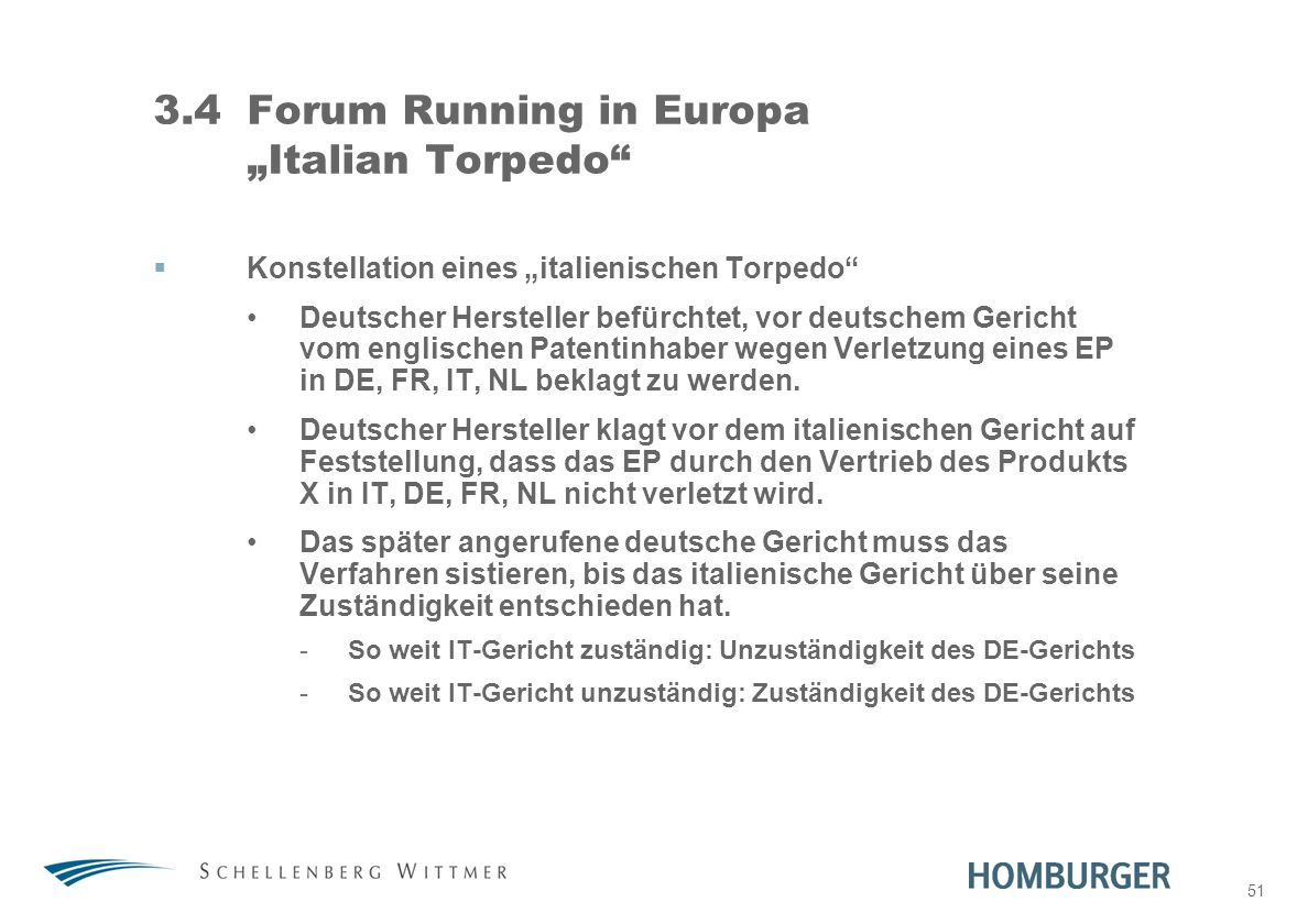 51 3.4Forum Running in Europa Italian Torpedo Konstellation eines italienischen Torpedo Deutscher Hersteller befürchtet, vor deutschem Gericht vom eng