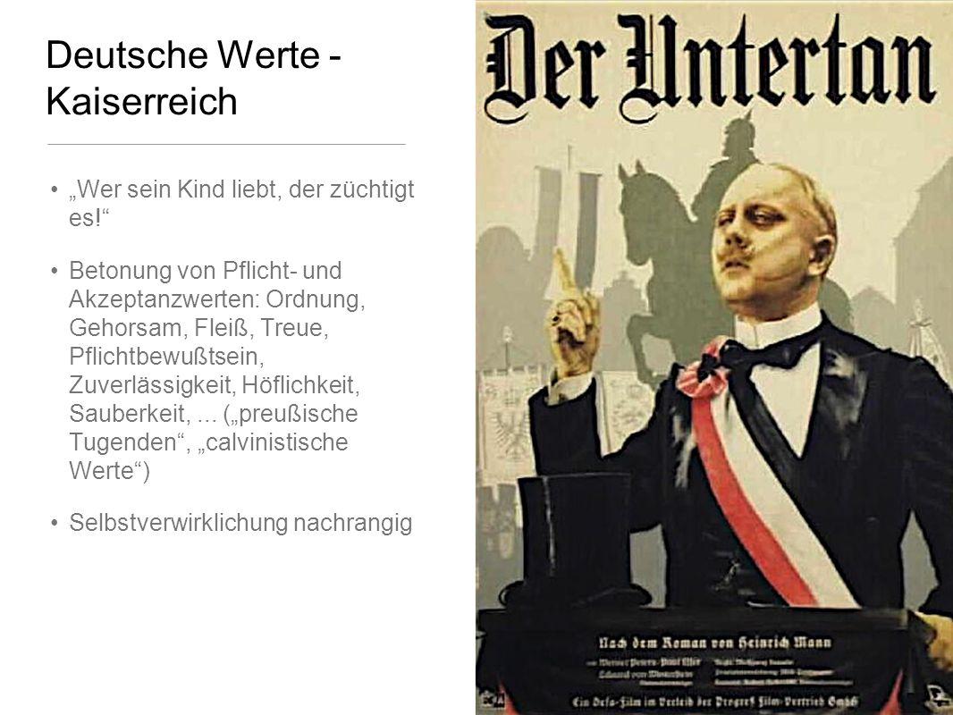 Deutsche Werte - Kaiserreich Wer sein Kind liebt, der züchtigt es.