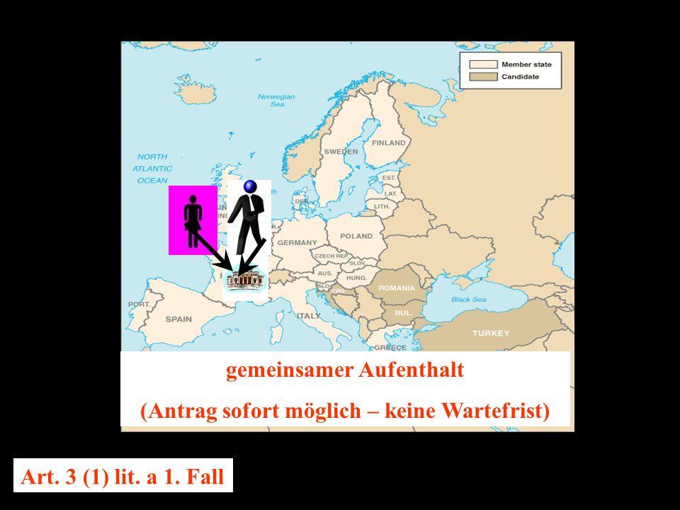 14.10.2005 Dr. Günter Tews gemeinsamer Aufenthalt (Antrag sofort möglich – keine Wartefrist) Art.