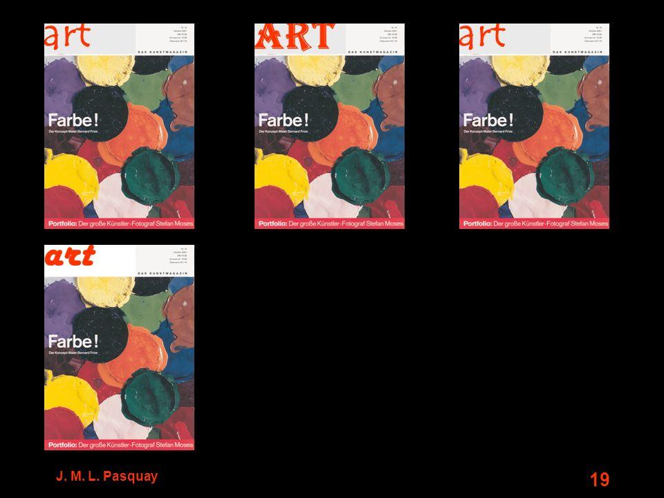 J. M. L. Pasquay 19 art