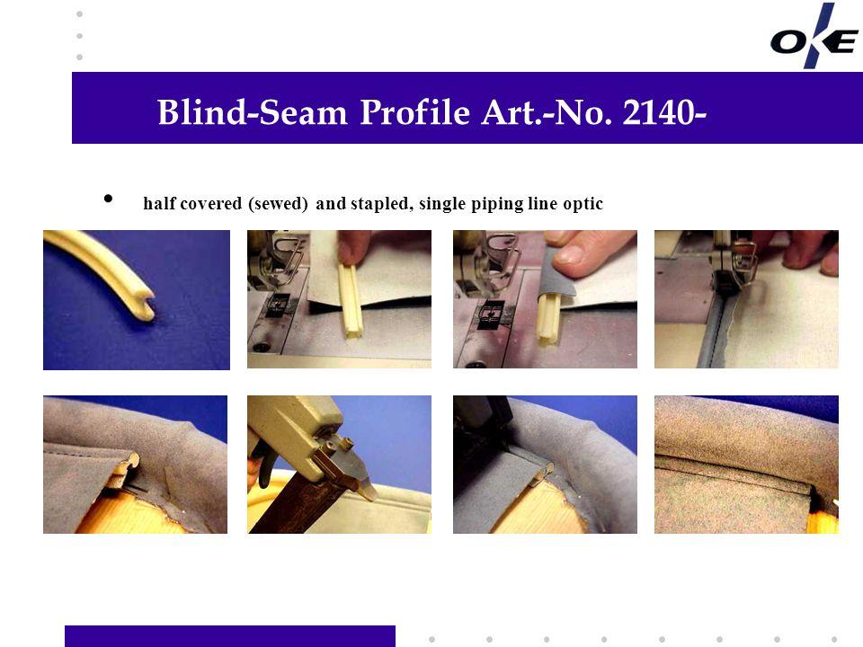 Blind-Seam Profile Art.-No.