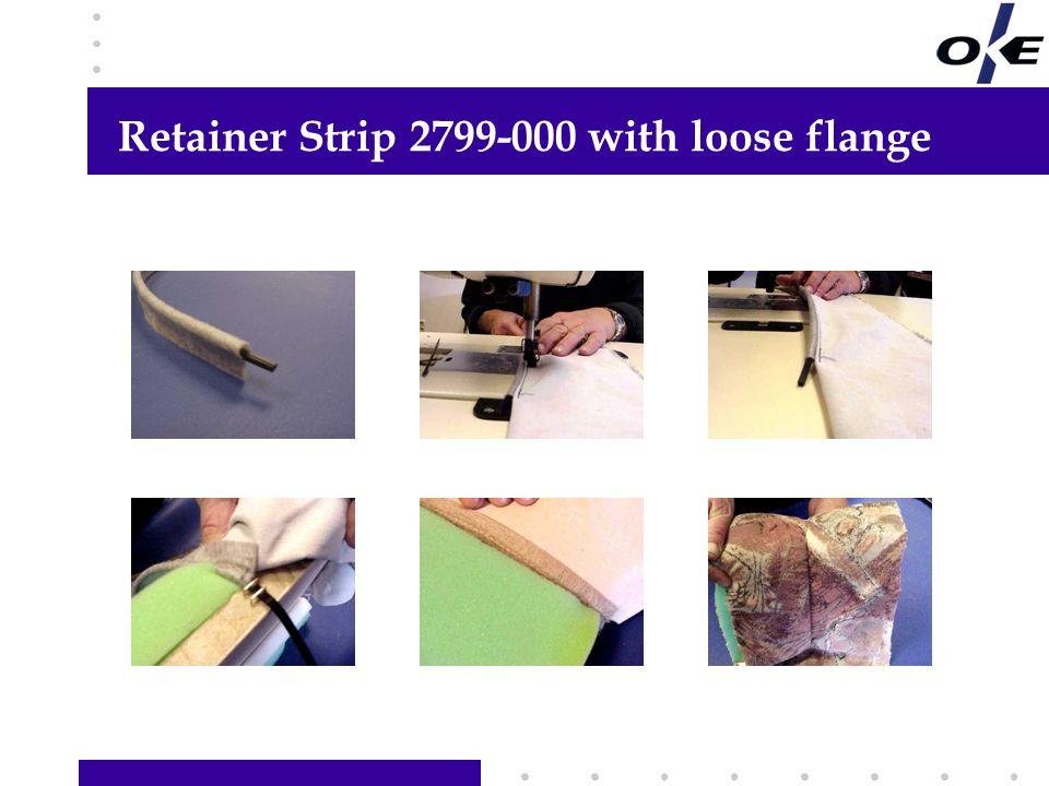 Retainer Strip 2799-000 with loose flange Hier Informationen Ihrer Wahl hinzufügen Links Text, Grafik oder Foto hinzufügen