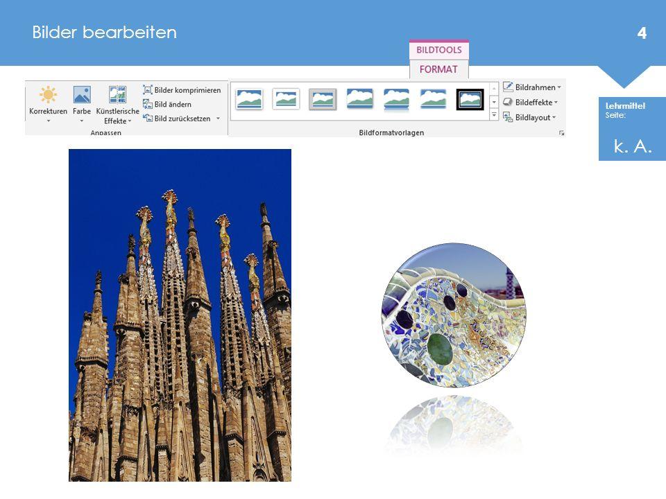 Lehrmittel Seite: SmartArt – Grafiken (Hierarchie Organigramm) 25 87 - 89