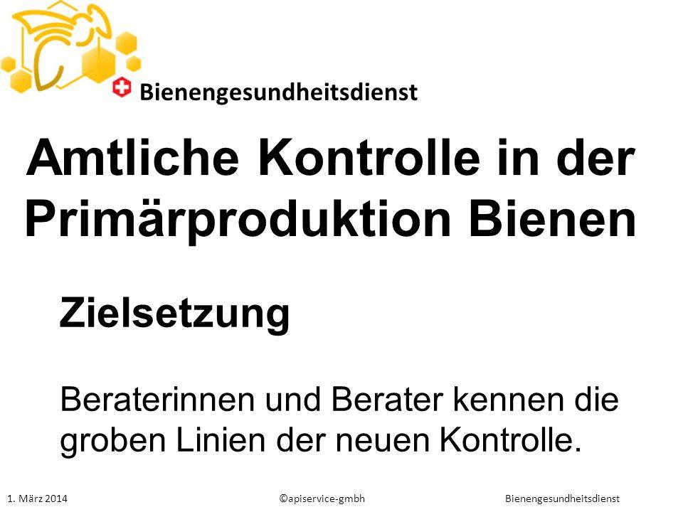 Amtliche Fachassistenten Bieneninspektion Neue Ausbildung in Anlehnung bisherige Ausbildung für Bieneninspektoren unter Bildungsverordnung BLV (ehem.