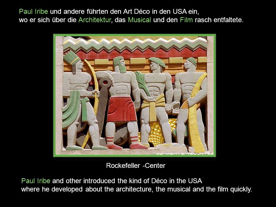 Art Déco (frz., Abkürzung von arts décoratifs, etwa: