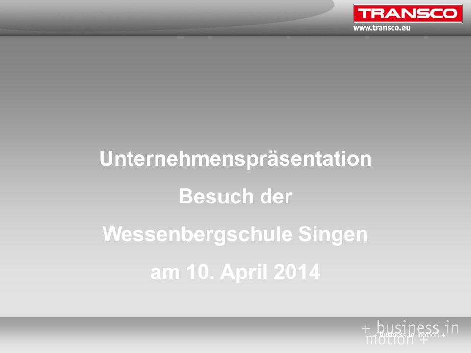 Unternehmenspräsentation Besuch der Wessenbergschule Singen am 10. April 2014