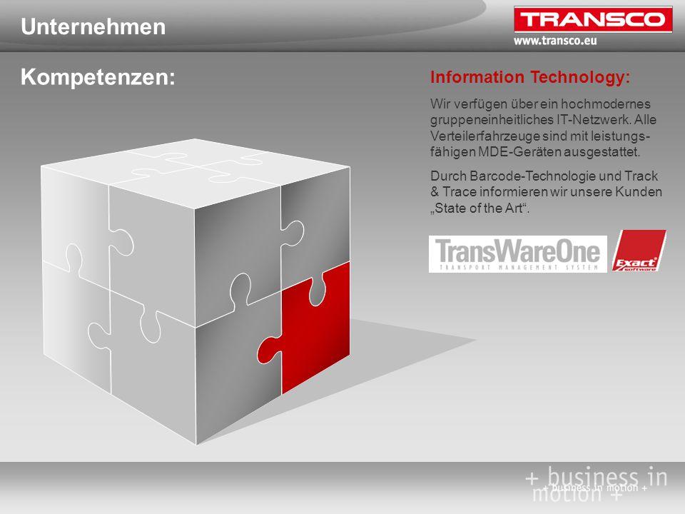 Unternehmen Kompetenzen: Consulting: Neben eigenen gut ausgebildeten und lösungsorientierten Mitarbeitern greift TRANSCO auf einen europaweiten Pool projekterfahrener Professionals aus allen Bereichen der Logistik zu.