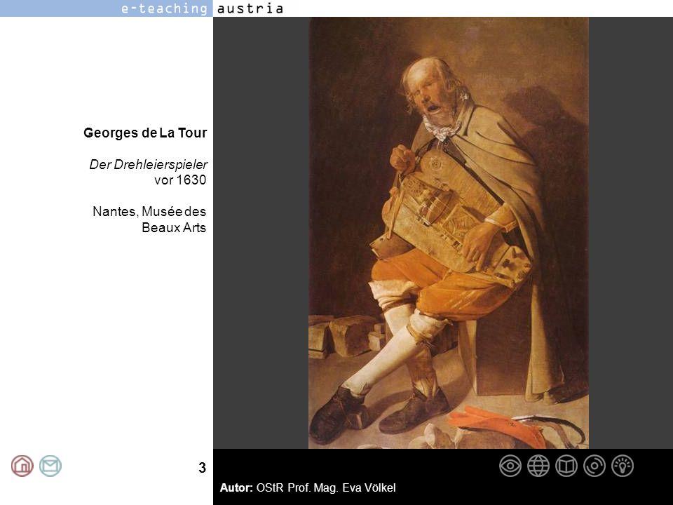 3 Georges de La Tour Der Drehleierspieler vor 1630 Nantes, Musée des Beaux Arts