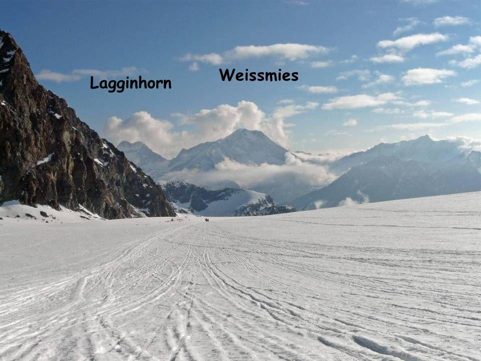 Weissmies Lagginhorn