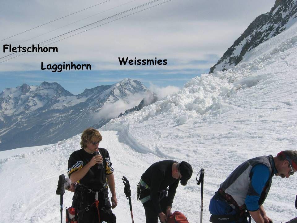 Weissmies Lagginhorn Fletschhorn
