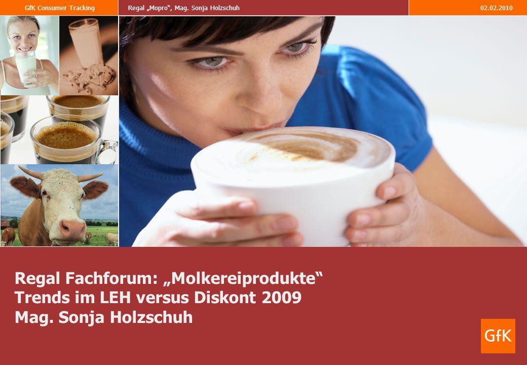 GfK Consumer TrackingRegal Mopro, Mag. Sonja Holzschuh02.02.2010 Laktosefrei