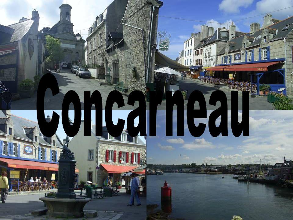 Montag 16.5.2005 Unsere erste Station am Montag war Concarneau. Dort hatten wir 2 ½ Stunden zu freien Verfügung