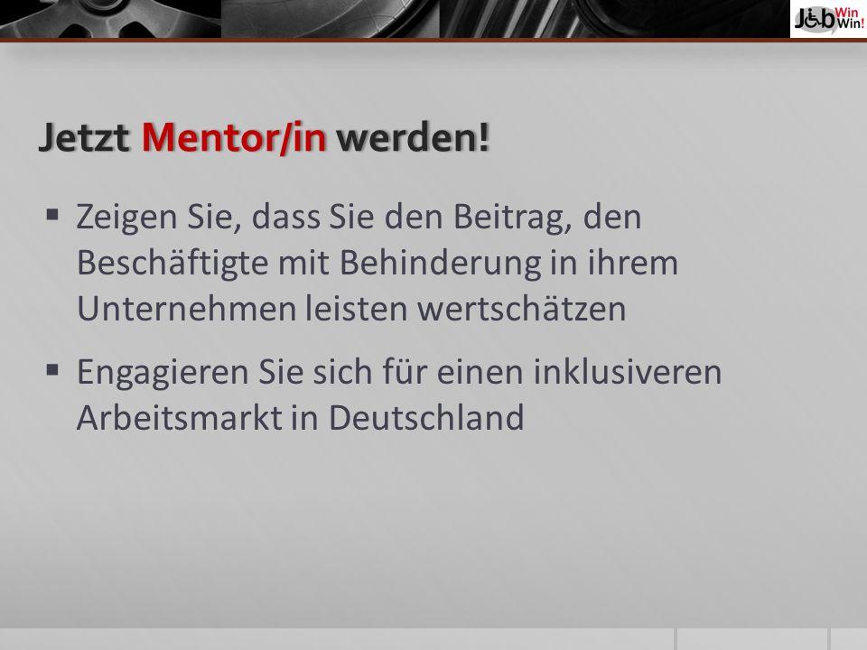 JetztMentor/inwerden!Jetzt Mentor/in werden.