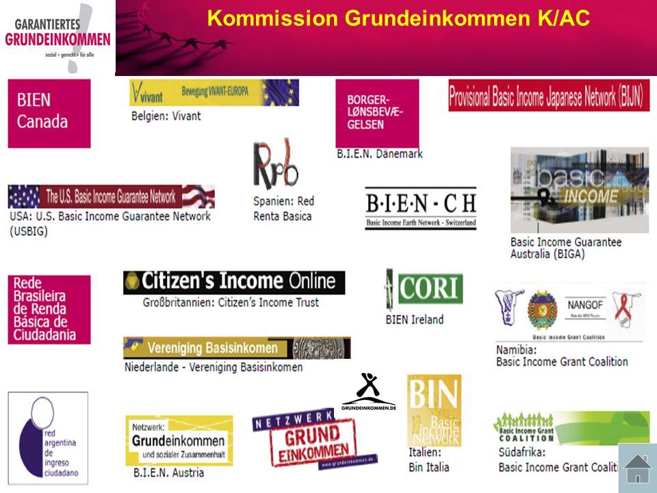 Kommission Grundeinkommen K/AC Gründer waren Paul-Marie Boulanger, Philippe Defeyt und insbes.