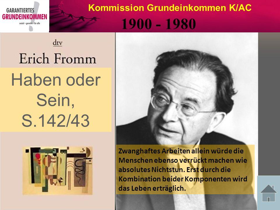 Kommission Grundeinkommen K/AC Friedrich Schiller 10.11.1759 – 9.5.1805 Zitat aus seinem Werk: Die Räuber, von 1782