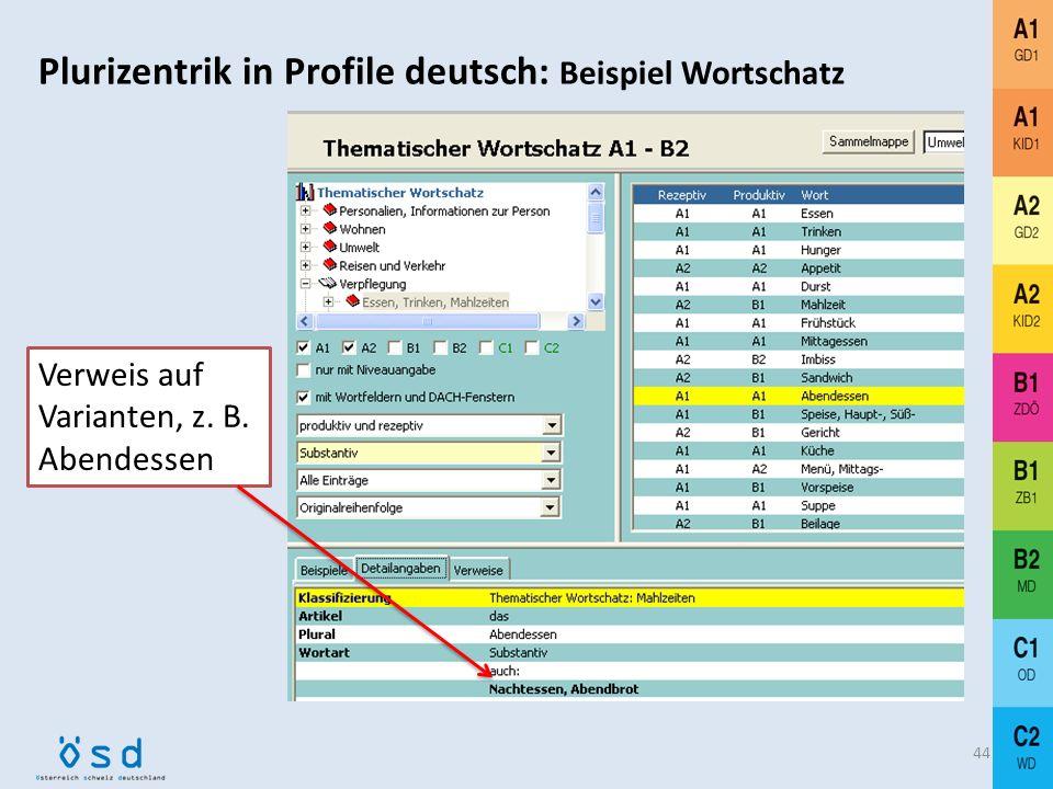 Grundlagen und Referenzwerke 43 Muhr, Rudolf (1994) und (2000): Das Österreichische Sprachdiplom (ÖSD). Österreichisches Sprachdiplom Deutsch. Lernzie