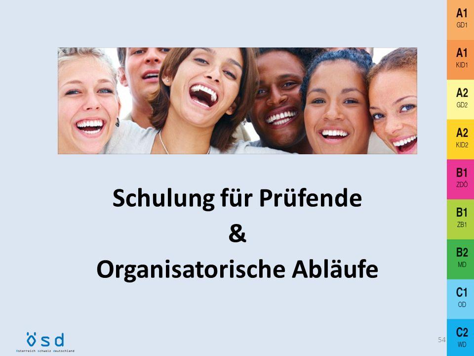 Plurizentrik: ÖSD-Wortschatzlisten A1 – B1 53