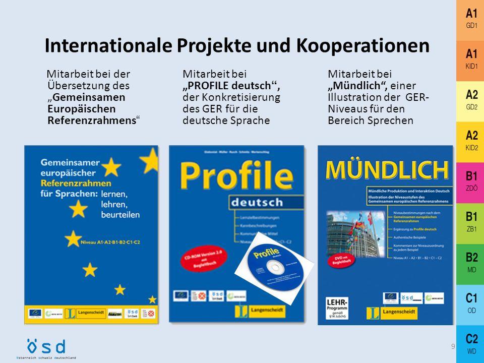 69 ÖSD-Mitgliederbereich: www.osd.at