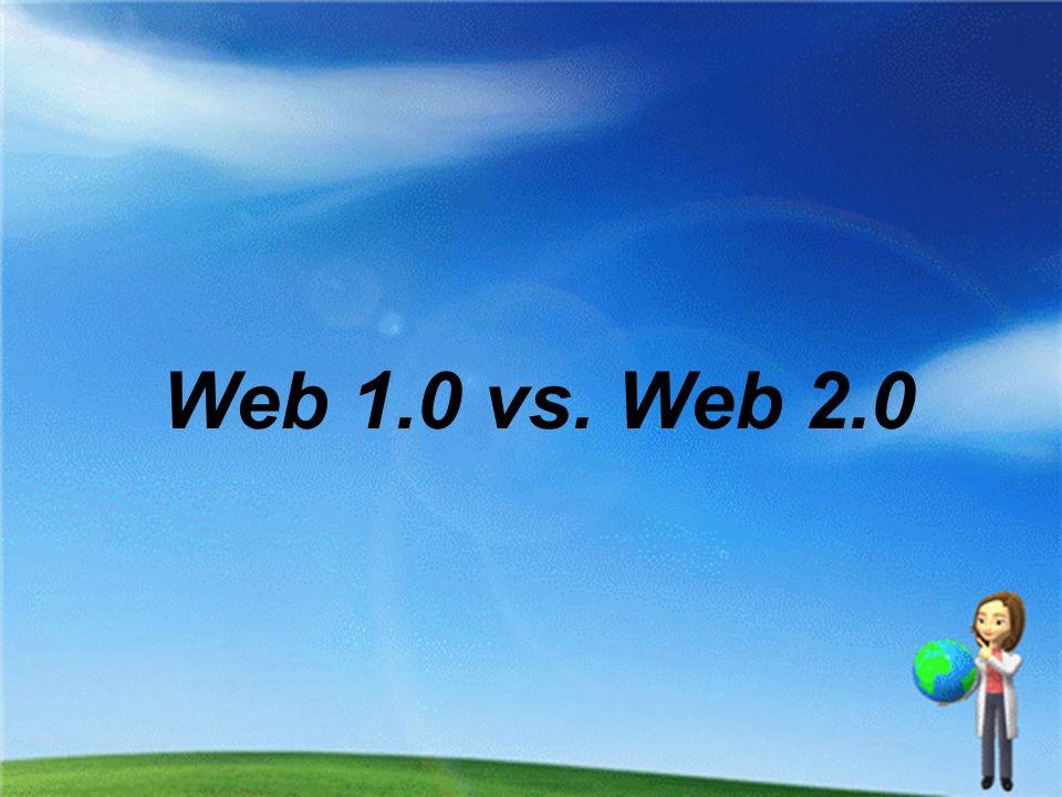 Was ist Web 1.0.
