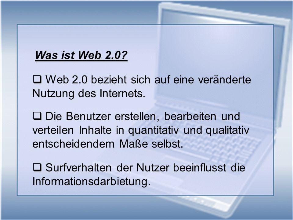 Web 1.0 vs.