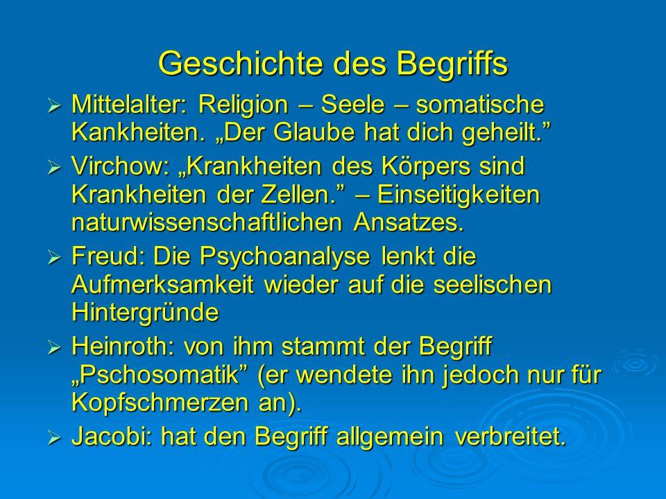 Geschichte des Begriffs Mittelalter: Religion – Seele – somatische Kankheiten. Der Glaube hat dich geheilt. Mittelalter: Religion – Seele – somatische
