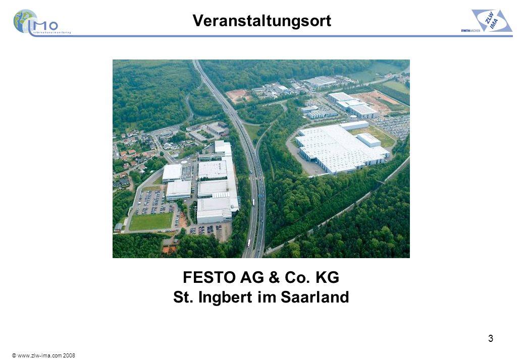© www.zlw-ima.com 2008 4 Programm – 25.