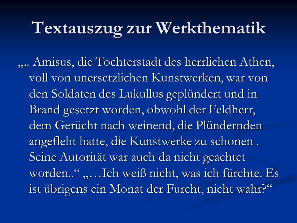 Textauszug zur Werkthematik..