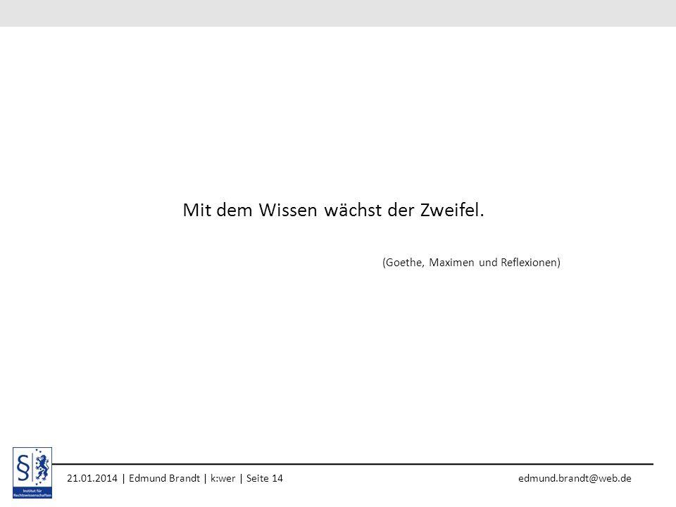 1. April 2010 | Referent | Kurztitel der Präsentation (bitte im Master einfügen) | Seite 1610. April 2013 | Edmund Brandt | Forschungsseminar | Seite