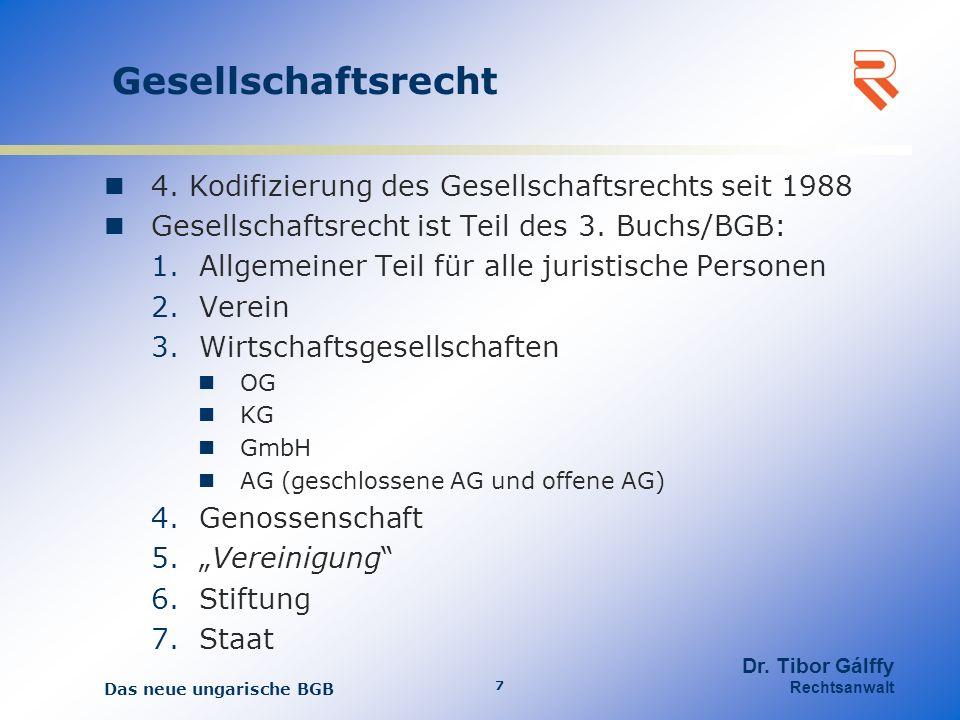 Gesellschaftsrecht 4.