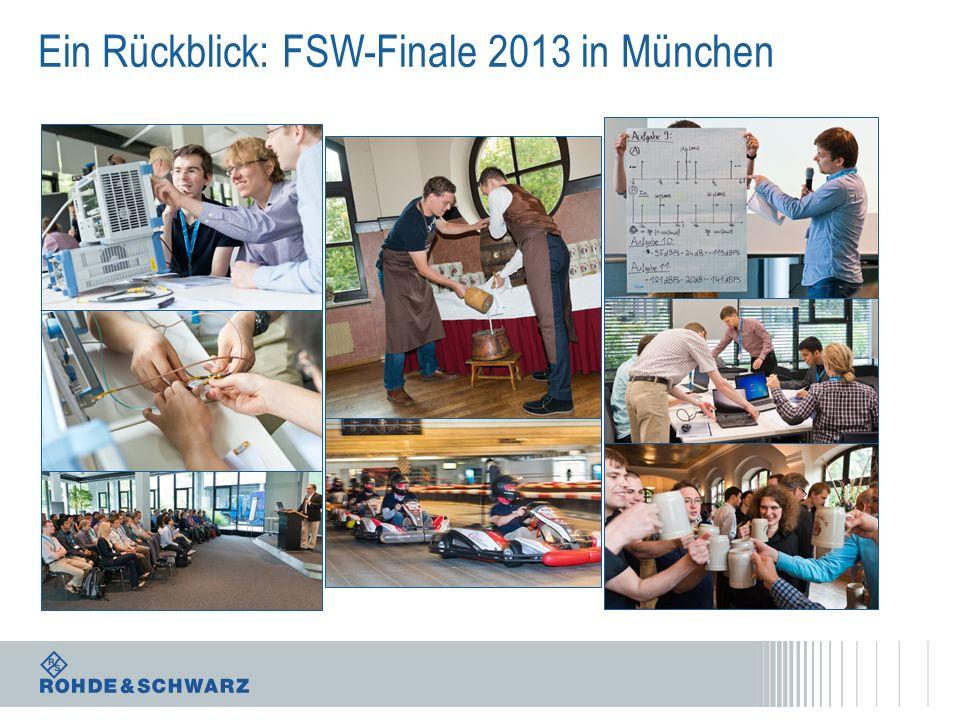 Ein Rückblick: FSW-Finale 2013 in München