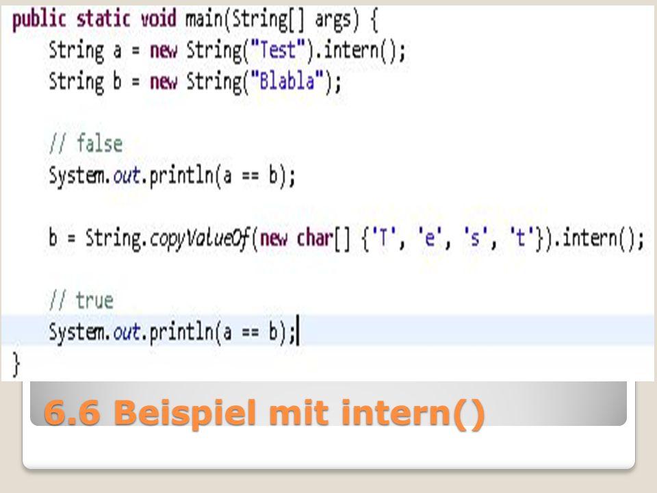 6.6 Beispiel mit intern()