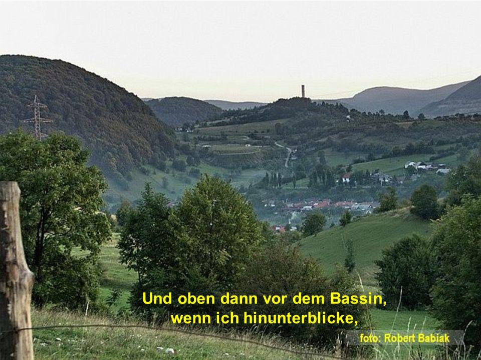 man sieht von hier weit in das Land von Sigismund bis Anina.