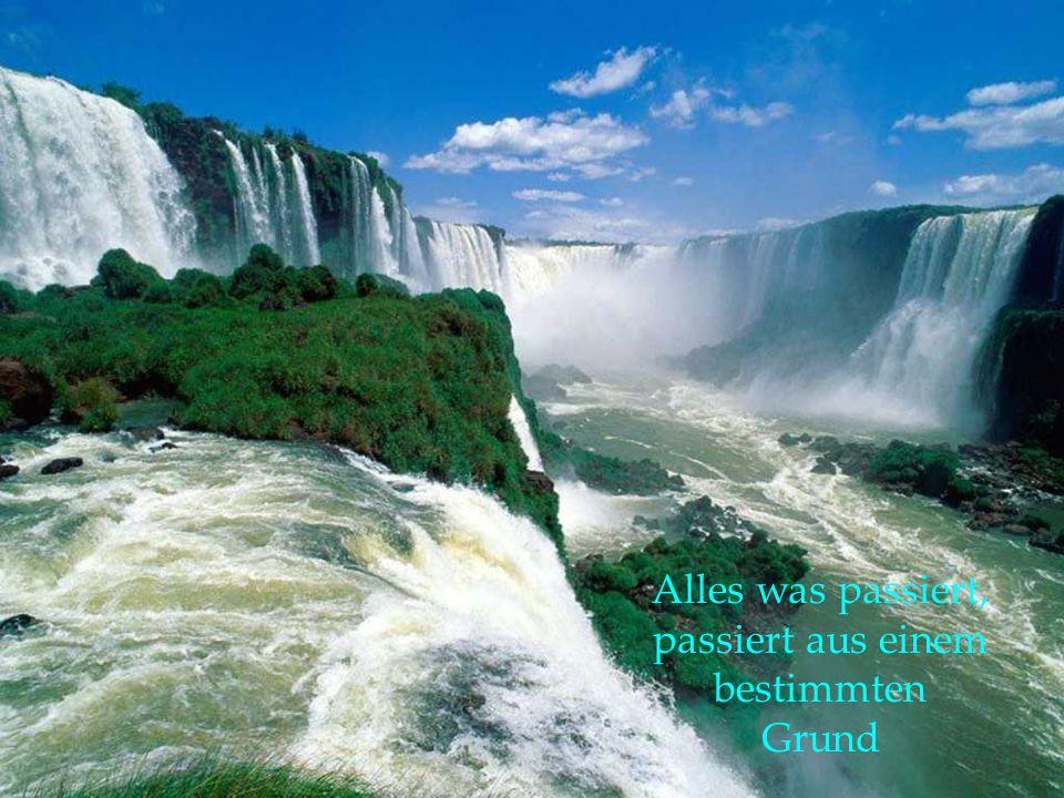 Mögest Du immer Luft zum atmen, Feuer zum wärmen, Wasser zum trinken und Erde zum leben haben.