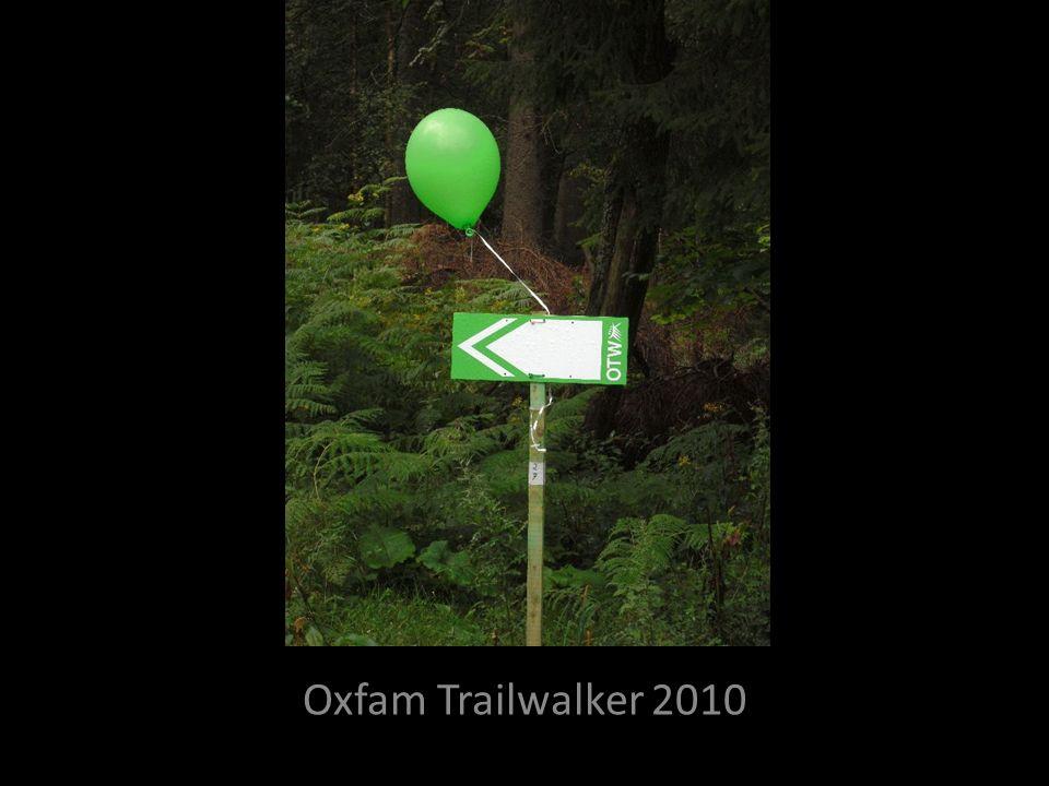 Fotoalbum Oxfam Trailwalker 2010