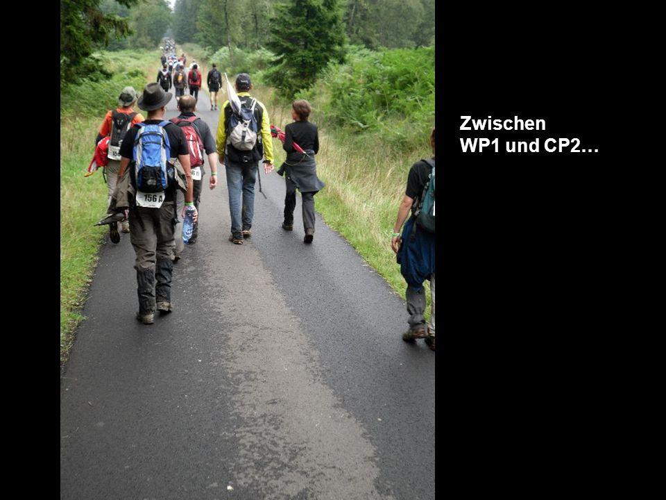 Zwischen WP1 und CP2…