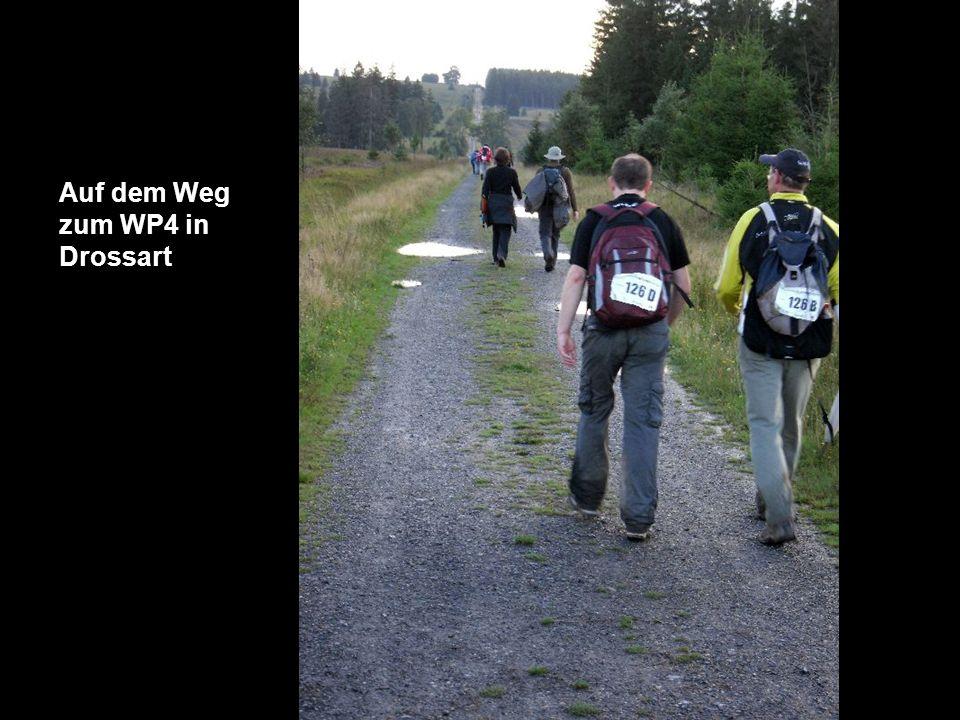 Auf dem Weg zum WP4 in Drossart
