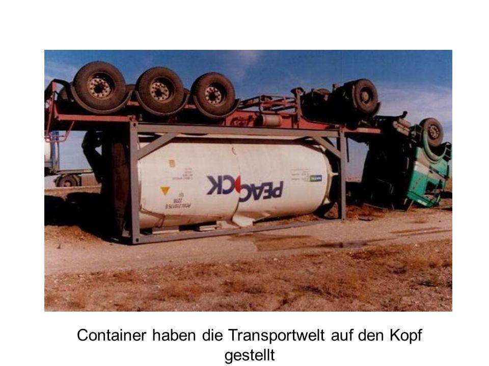 Container haben die Transportwelt auf den Kopf gestellt