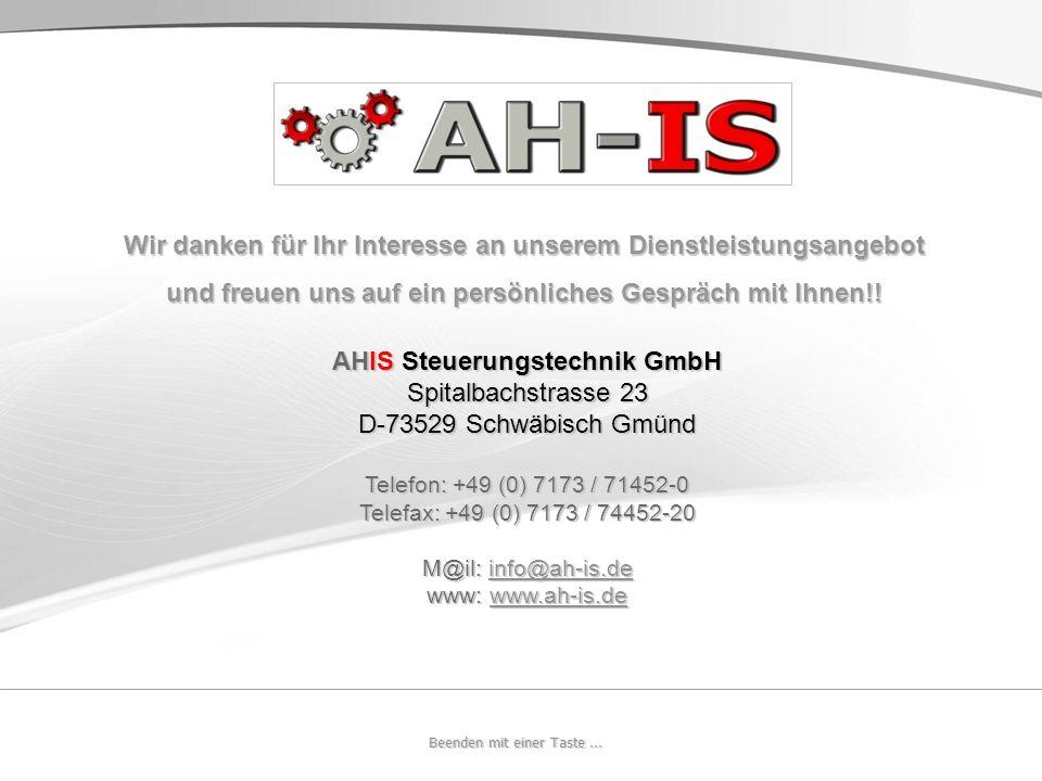 © 2009 AH-IS GmbH Nachdruck auf Papier oder elektronischen Datenträgern sowie Einspeisung in Datennetze nur mit Genehmigung durch den Herausgeber erla
